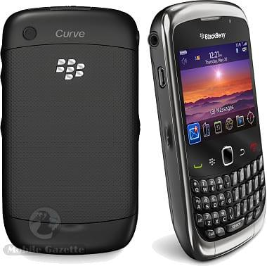 Spesifikasi Blackberry 9300 Curve 3G