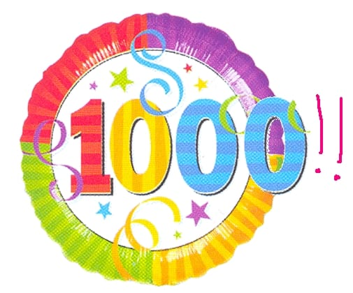 Blog Sederhana Menembus Angka 1000 Pengunjung