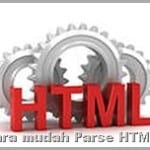 Cara Parse Kode HTML