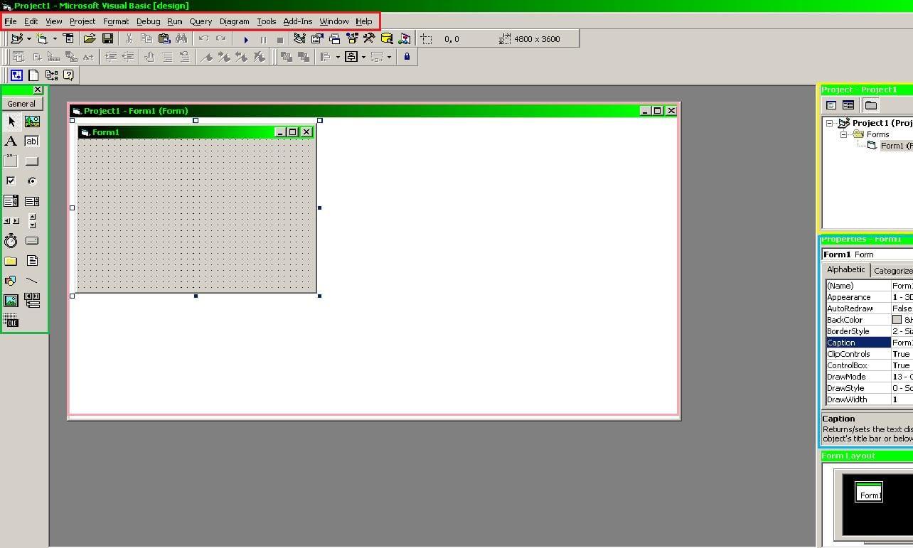 Dasar Visual Basic 6