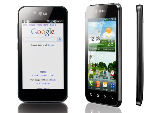 Spesifikasi Harga LG Optimus Black