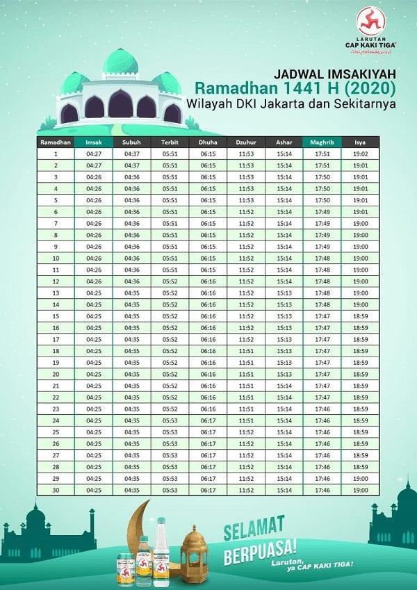 Jadwal Ramadhan