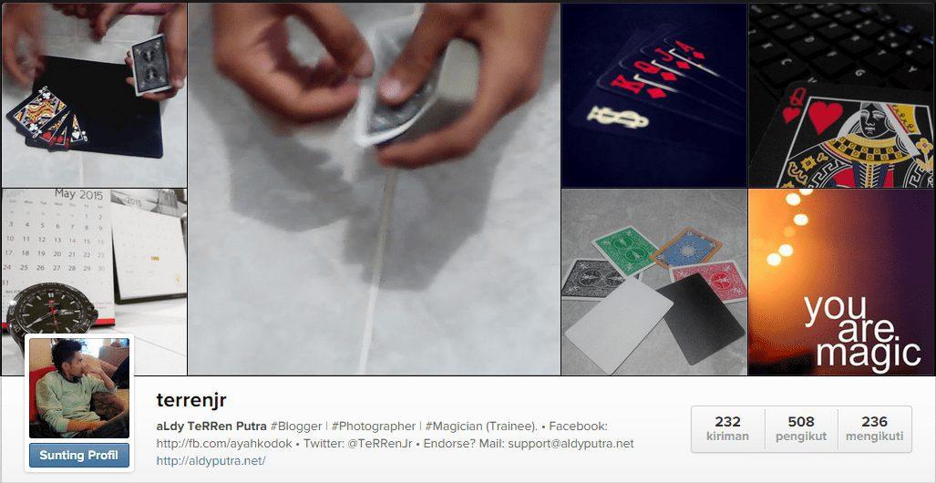 Memanfaatkan Instagram Untuk Video Sulap