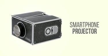 Cara Membuat Smartphone Projector Sederhana dari Kardus Sepatu Bekas