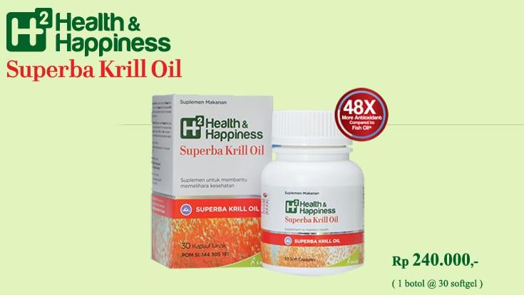 H2 Superba Krill Oil? Ini Lho Manfaatnya