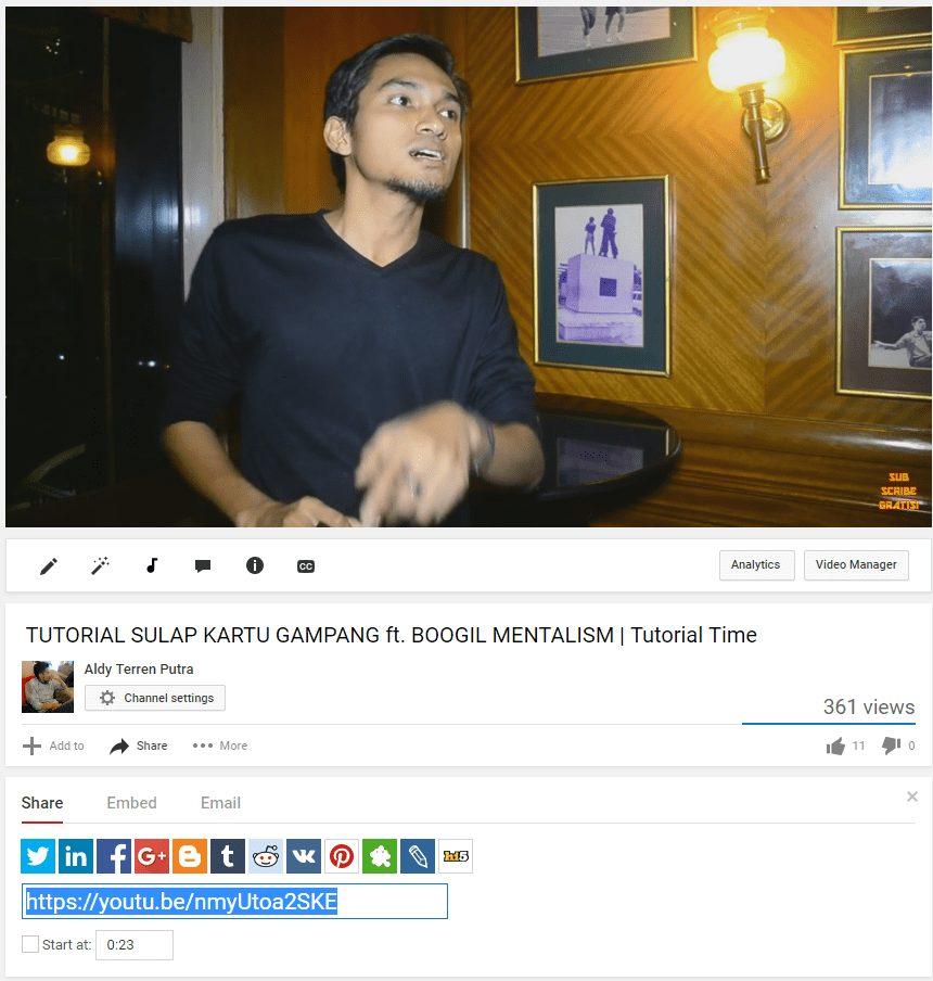 Cara Mendapatkan Viewers Youtube