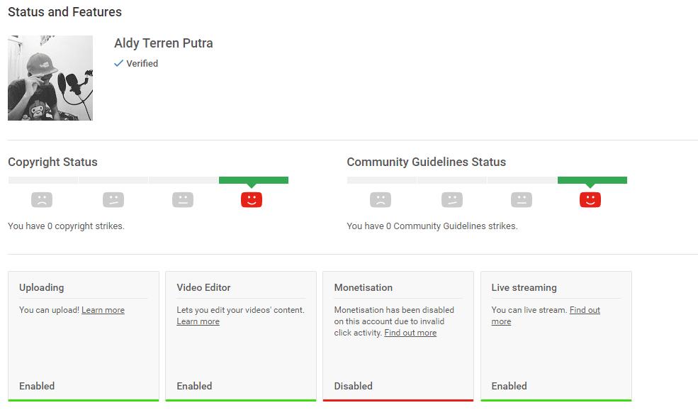 Pendapatan Dari Youtube