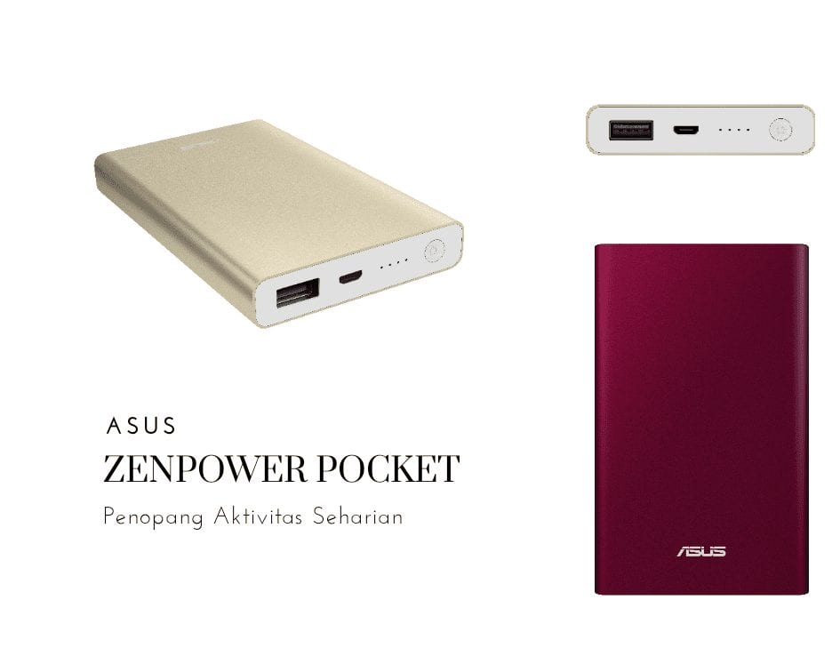 Powerbank Terbaru ASUS ZenPower Pocket