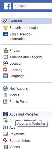 Facebook Apps and Websites