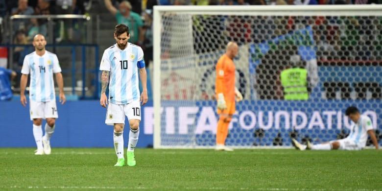 Prancis vs Argentina