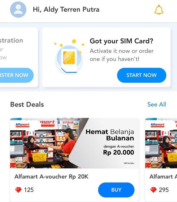 Mendapatkan Switch Smartfren Mobile