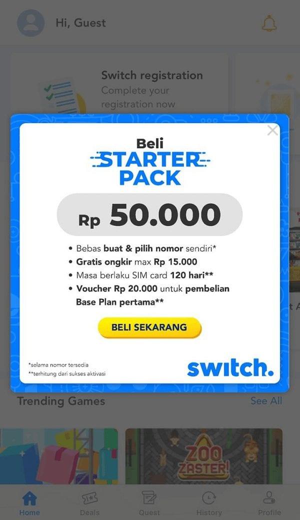 Switch Smartfren Mobile