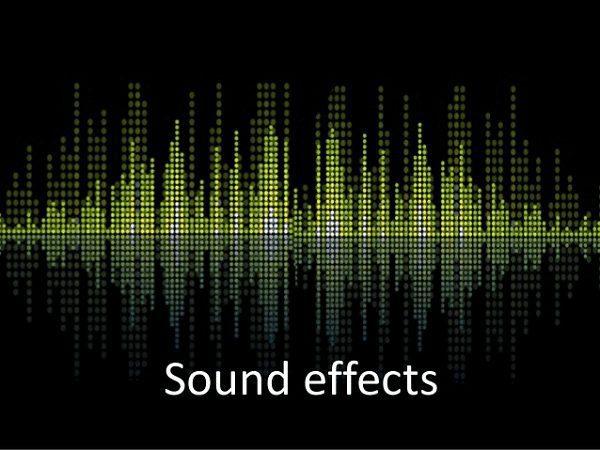 Tidak Menambahkan Sound Effect Berlebihan