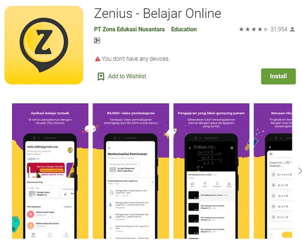 Bimbel Zenius Educations
