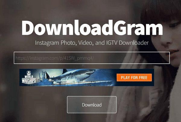 Download Video IG Menggunakan Website Downloadgram