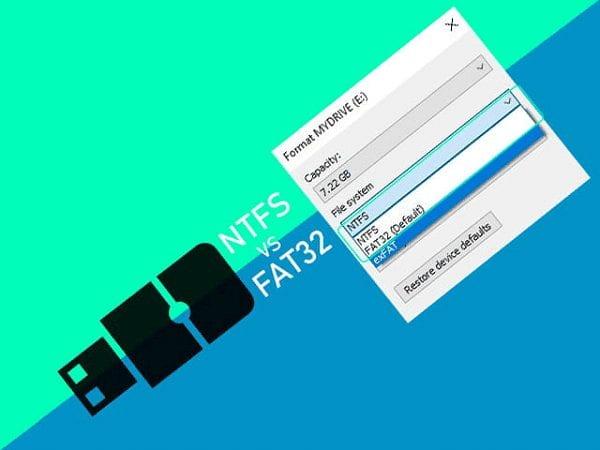 NTFS dan FAT32