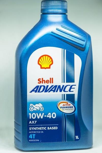 Rekomendasi Oli Mesin shell advance ax7 10w-40
