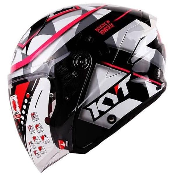 Rekomendasi Helm Half Face KYT Terbaik Untuk Kalian Miliki!