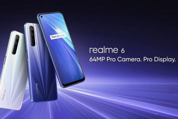 HP Realme 6 Pro 4 Jutaan