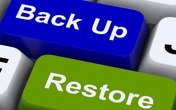 Backup & Restore iOs